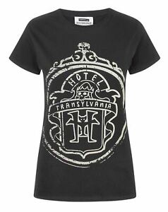 Hotel-Transylvania-Logo-Glow-In-The-Dark-Women-039-s-T-Shirt
