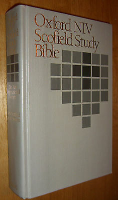 Scofield Study Annotations Holy Bible Oxford New International Version NIV 1984
