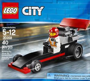 LEGO City #30358 - Dragster / Bolide de Course - Collector 2018 - 100% NEW