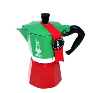 BIALETTI MOKA EXPRESS TRICOLORE CAFFETTIERA 3 TZ