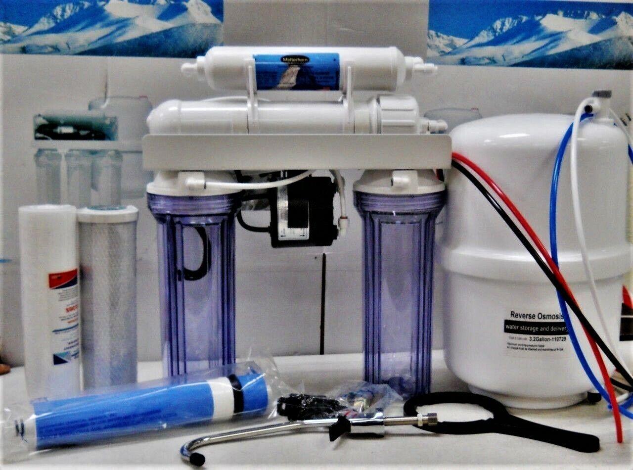 Osmose Inverse Osmose Inverse Filtre à Eau Système-pompe permeate ERP 1000-100 Gotham Police Department 4 étape