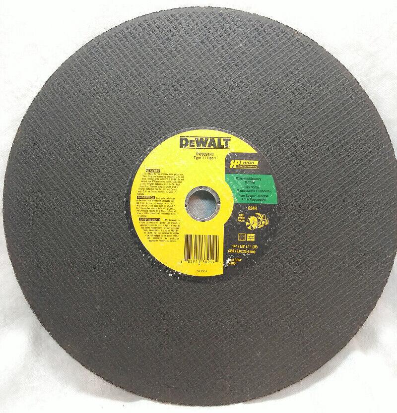 """DEWALT DW8706 DW8706B5 3/""""x.035/""""x3//8/"""" Fast-Cutting Cut-off Wheel 20-pack"""