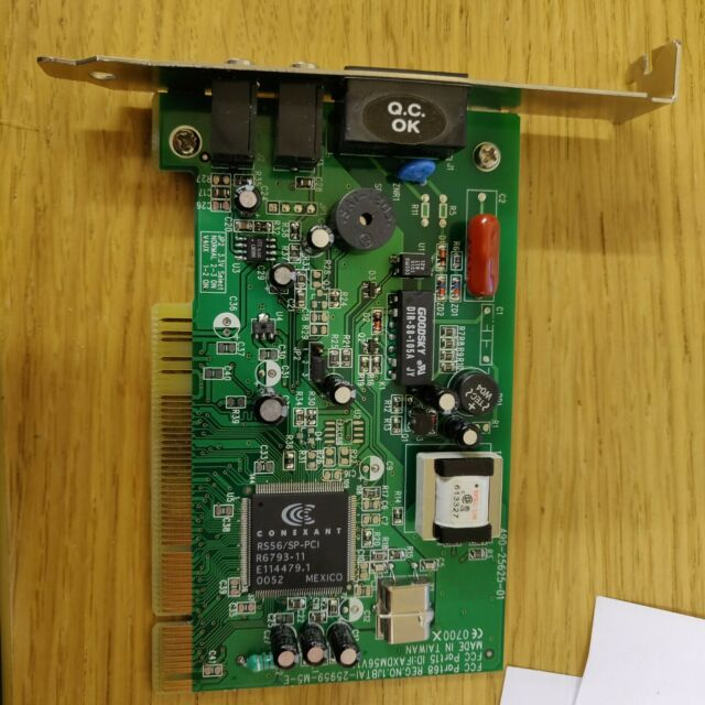 DRIVER: CONEXANT RS56 SP PCI R6793 11 MODEM
