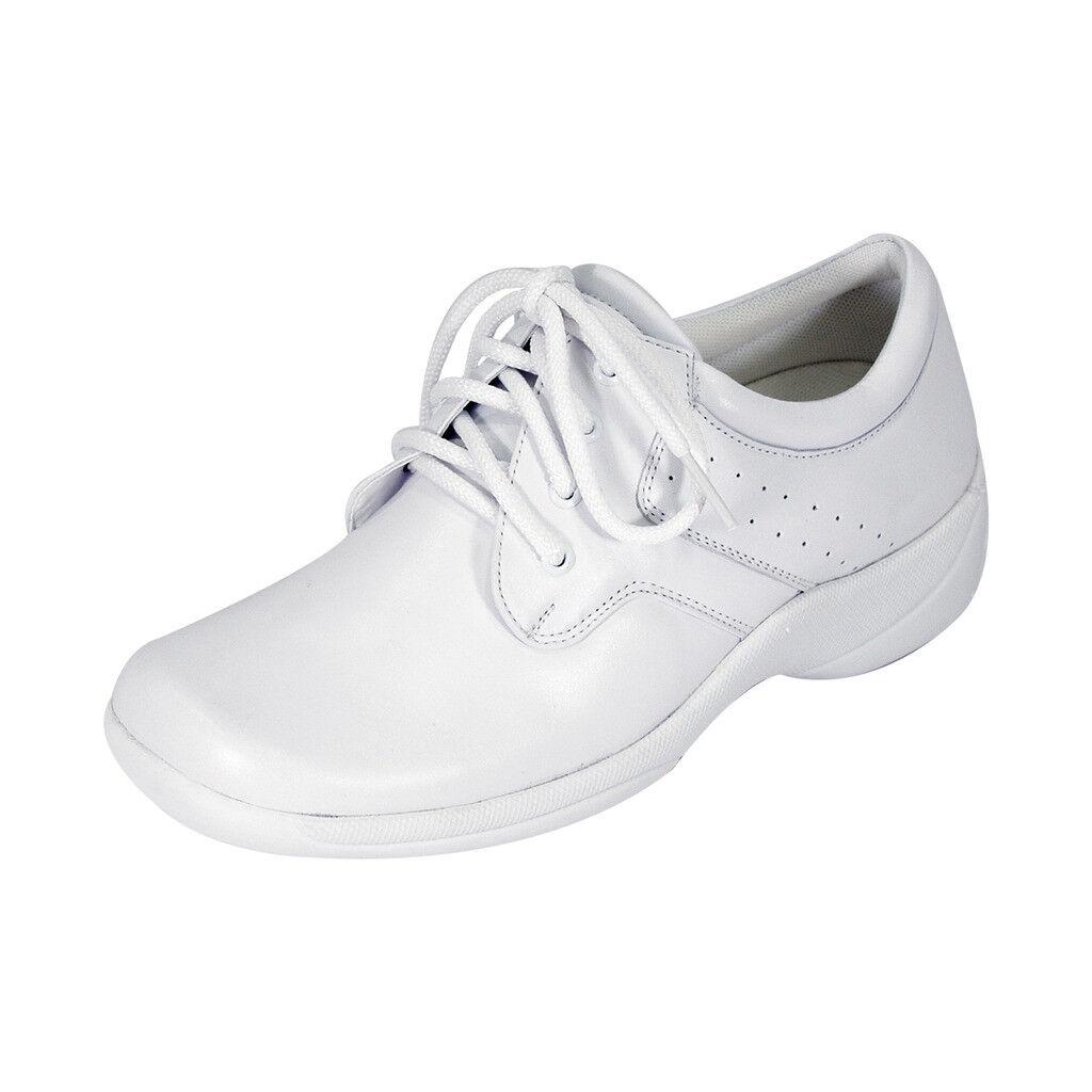 24 H Comfort Julie Mujeres Ancho Cuero Cuero Cuero Con Cordones Comodidad Zapatos Oxford  compra en línea hoy