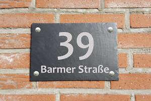 Hausschild-Tuerschild-Hausnummer-aus-Schiefer-Gravur-30x20cm-Wetterfest-M