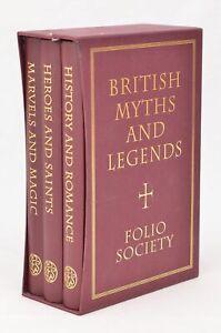 """British Myths And Legends"" - Folio Society, 3 vol. boxed set, 2006 8th Edition"