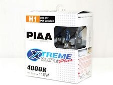 Piaa 4000K 55w=110w XTreme White H1 Halogen Fog Light Bulbs