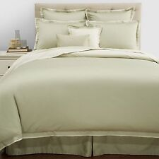 New Hudson Park 800 TC Egyptian Cotton One Euro Pillow Sham  Eucalyptus Green