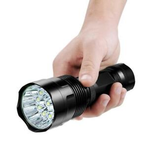 Neu-5LEDs-Fahrradlampe-Fahrradbeleuchtung-Tachenlampe-5000LM-Fahrradlicht