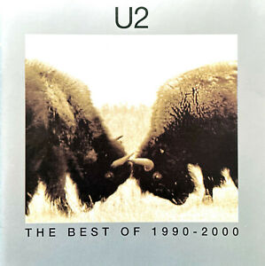 U2 CD The Best Of 1990-2000 - UK & Europe