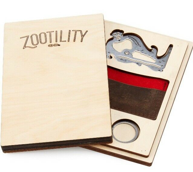 Zootility Tools Everyday Carry EDC Gift Box Multi Tool, Wallet   sale online discount