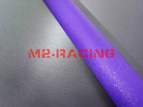 1ft x 5ft Purple Frosted Glitter Sparkle Sticker Decal Car Vinyl Wrap Film