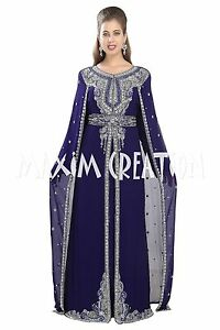 f6a34bf5b6 Image is loading TRADITIONAL-SELHAM-TUNISIAN-CULTURAL-WALIMA-GOWN-ROBE -COCKTAIL-