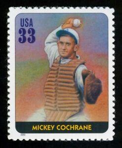 #3408g 33c Legendas De Béisbol: Mickey Cochrane, Nuevo Cualquier 5=