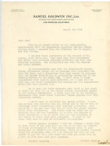 CHRISTY-WALSH-1941-TLS-letter-DIMAGGIO-during-screenplay-of-PRIDE-OF-THE-YANKEES