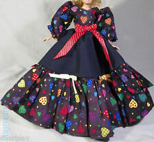 Fashion Princess Party Dress//Evening Clothes//Gown For 11.5in.Doll p03
