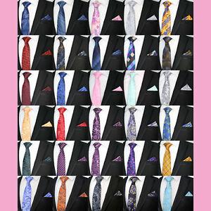 Herren-accessoires UnermüDlich Paisley Floral Polka Dot Wedding Tie And Pocket Square Hanky Matching Silk Blend Elegant Im Geruch