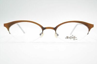 Avere Una Mente Inquisitrice Vintage Sting By Atair 3987 49 [] 19 135 Arancione Ovale Occhiali Eyeglasses Nos- Design Accattivanti;