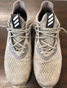 103a2ea33871a Adidas Alphabounce EM Running Shoes US Mens Size 14 Tech Earth Brown ...