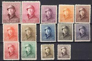 Set-Belgium-1918-1920-mint-HINGED-combine-shipping-1051