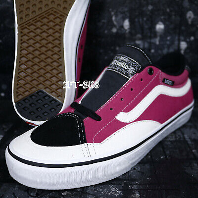 VANS TNT ADVANCED PROTOTYPE BLACK MAGENTA WHITE MEN'S SKATE SHOES S9A143.188 | eBay