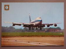 R&L Postard: Boeing 747 El-Al Israel Landing, Fisa