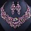 Fashion-Women-Pendant-Crystal-Choker-Chunky-Statement-Chain-Bib-Necklace-Jewelry thumbnail 93