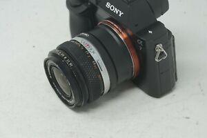 SONY-E-MOUNT-adapte-Olympus-OM-Mount-Auto-W-35-mm-2-8-Wide-Premier-objectif-tous-A7-NEX