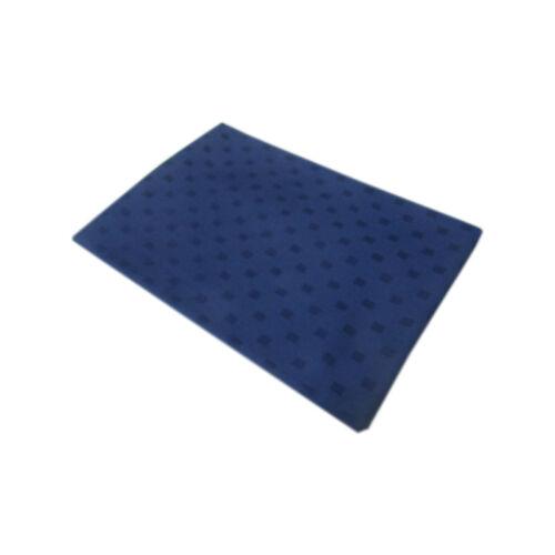 BLU DAMINA 100/% COTONE COL TOVAGLIA copritavola X 12 PERSONE 180X250cm ART