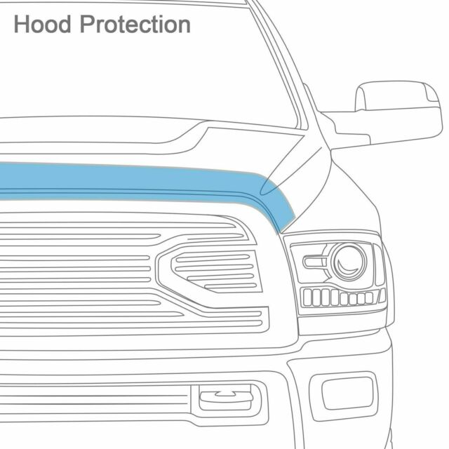 Auto Ventshade 322035 Aeroskin Smoke Hood Protector Fits 11-13 Highlander
