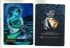 Poison Counter Token FOIL | NM | altered Art Promo - Tokens for MTG | Magic MTG