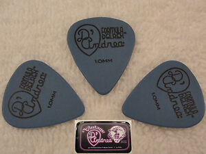 D-039-ANDREA-351-TNDX100-Delrex-Delrin-Guitar-Picks-1-00MM-BLUE-12-picks-in-Tin