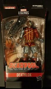 No Sasquatch BAF Piece Marvel Legends Deadpool Series Deathlok.