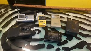Portable-Cassette-Players-and-Radios-Lot-of-6-Sony-Sanyo-Radio-Shack-GPX