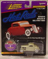 Johnny Lightning Hot Rods Flathead Flyer #4 1991 Silver