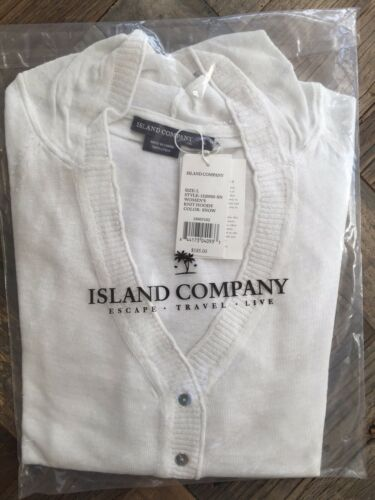 Snow RETAILS $185.00 Island Company Women/'s Knit Hoody Color