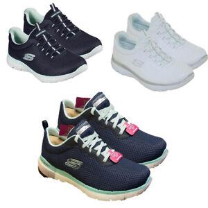 Da Donna Skechers Scarpe da ginnastica casual vertici da palestra scarpe da corsa passeggio Slip On