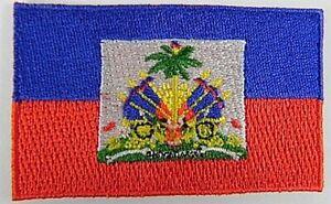 Haiti-Aufnaeher-gestickt-Flagge-Fahne-Patch-Aufbuegler-6-5cm-neu