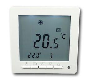 Digital Thermostat für Fussbodenheizung max 16A #798