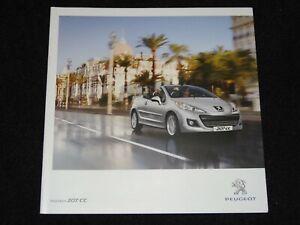 Peugeot 207 Cc Uk Sales Brochure Mcp3427 New Old Stock Ebay