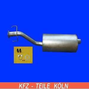 Sistema-de-escape-OPEL-FRONTERA-A-2-0-Sport-silenciador-silenciador