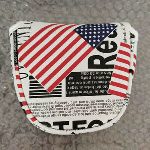 New-Mallet-USA-Flag-putter-cover-magnet-headcover-For-Odyssey-Scotty-2Bll-Ping