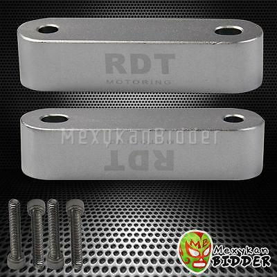 Black aluminum round ball style 5 speed RDT Shift KNOB Hondel Del Sol Civic CRX