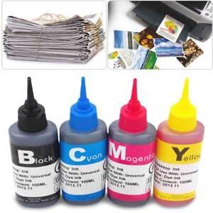 Details about 1pc 100ml Refill bulk ink kit for HP Canon Lexmark Dell  brother inkjet printer