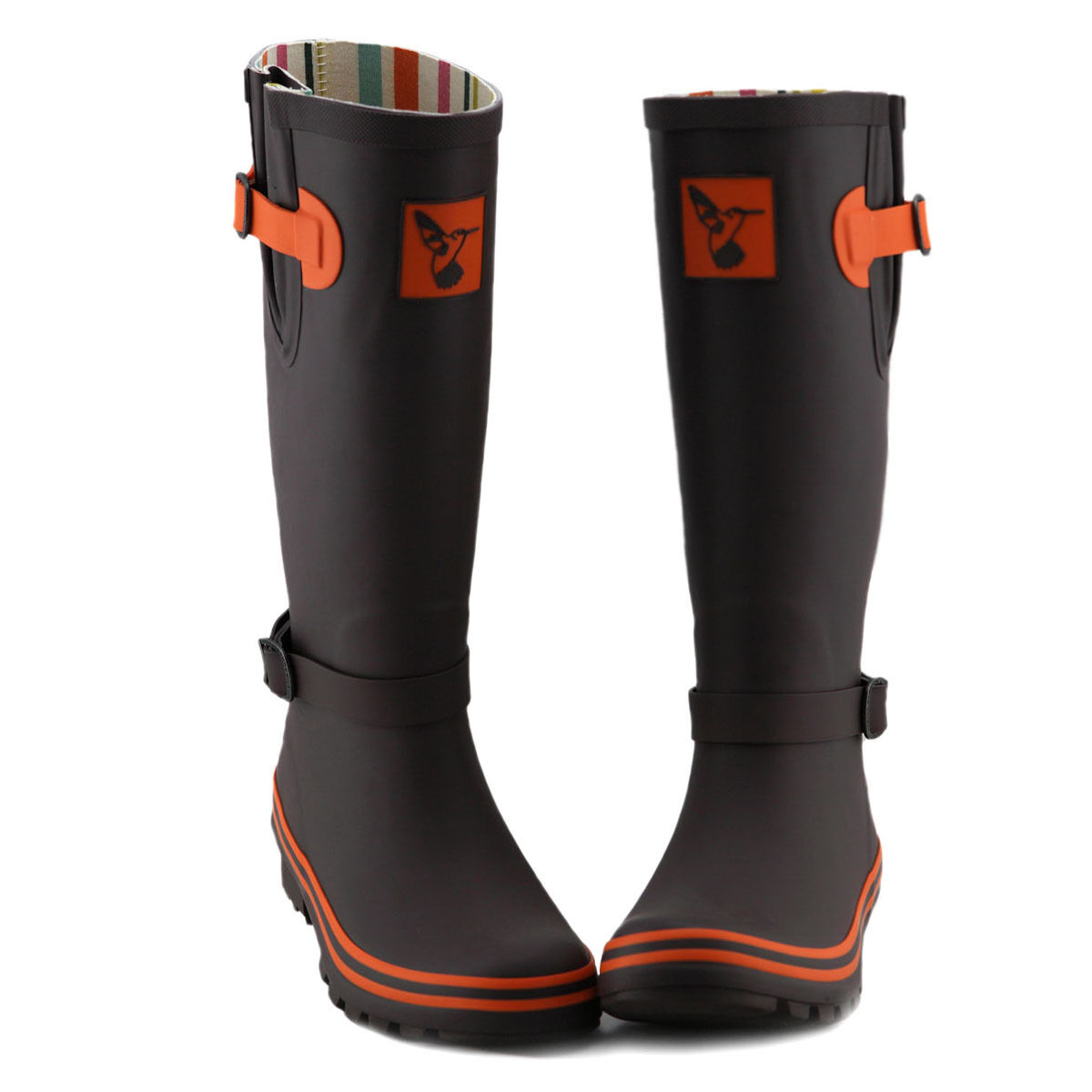 Evercreatures Ladies Knee-high Rain boots Wellies Rain-shoes Gumboots UK Brand