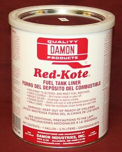 Image Is Loading Red Kote Gallon Coat Gas Oil Sel Fuel