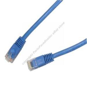 Lot300-2ft-RJ45Cat5e-Ethernet-Cable-Cord-SH-DISC-BLUE-F