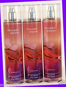 New 3 Bath Amp Body Works Twilight Woods Fine Fragrance
