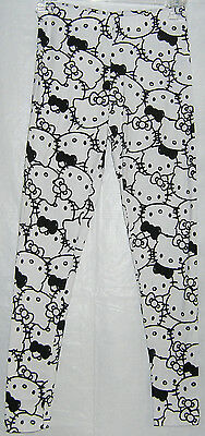 Hello Kitty Leggings Stretch Full Length NICE GIFT FREE SHIPPING SMALL NWT