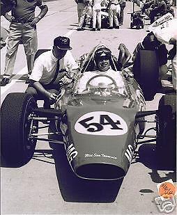 BOB VEITH ORIGINAL 1965 INDY 500 8 X 10 PHOTO